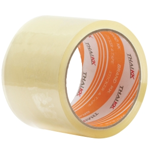 THAI KK OPP PACKAGING TAPE ACRYLIC ADHESIVE SIZE 2  X 45 YARDS CORE 3  CLEAR