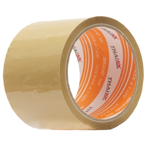 THAI KK OPP PACKAGING TAPE ACRYLIC ADHESIVE SIZE 2  X 45 YARDS CORE 3  BROWN