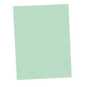 LYRECO SQUARE CUT FOLDER 250G 235MM X 315MM GREEN PACK OF 100