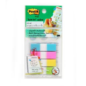 POST-IT 683-4C FLAGS 0.5  X 1.7  - 4 COLOURS - 100 FLAGS