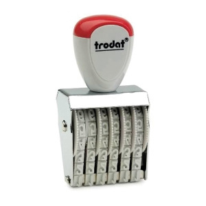 TRODAT TR-1546 RUBBER STAMP NUMBER 6 DIGITS 4MM