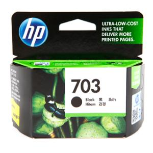 HP 703 CD887AA ORIGINAL INKJET CARTRIDGE BLACK