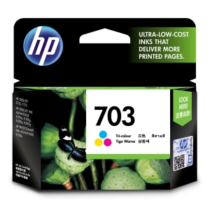 HP 703 CD888AA ORIGINAL INKJET CARTRIDGE TRI-COLOURS