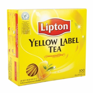 LIPTON  YELLOW LABEL TEA BAGS WITH ENVELOPE BOX OF 100