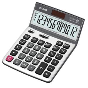 CASIO DX-120ST DESKTOP CALCULATOR 12 DIGITS