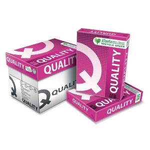 QUALITY RED COPY PAPER A4 80G - WHITE - REAM OF 500 SHEETS