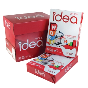 IDEA WORK COPY PAPER A4 80G - WHITE - REAM OF 500 SHEETS