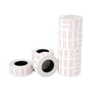 NANMEE ป้ายราคาชนิดม้วน NM-500 12มม. x 21 มม. 500 ดวง/ม้วน แพ็ค 10 ม้วน