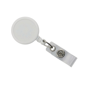 YOYO BADGE REEL - WHITE