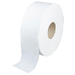 KIMSOFT JUMBO ROLL TISSUE 1-PLY 620METRES