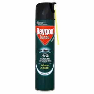 BAYGON สเปรย์กำจัดแมลง สูตรกำจัดปลวก มด และแมลงสาบ 600 มิลลิลิตร
