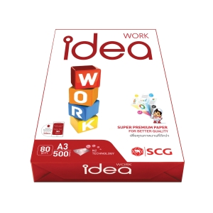 IDEA WORK COPY PAPER A3 - 80G WHITE - REAM OF 500