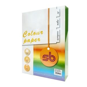 SB กระดาษสีถ่ายเอกสาร NO.A11 A4 80 แกรม เขียวเข้ม 1 รีม บรรจุ500แผ่น