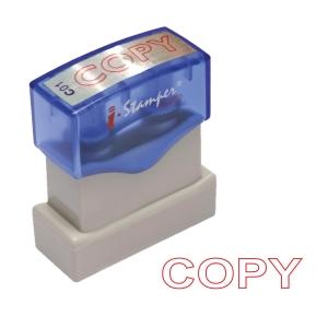 I-STAMPER ตรายางหมึกในตัว เบอร์C01  COPY