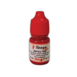 I-STAMPER REFILL INK RED 5ML