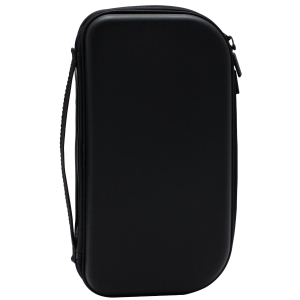 STORM QFB180 CD CASE WITH ZIP HOLDS 80 CDS BLACK