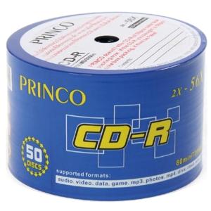 PRINCO แผ่น CD-R 80 นาที 700 MB 2X-56x บรรจุ 10 แผ่น