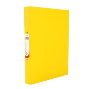 ตราม้าแฟ้มห่วง2 ห่วง H-335 A4 สัน 1.5 นิ้ว สีเหลือง
