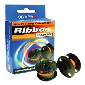 OLYMPIA 9360N ORIGINAL RIBBON BLACK/RED
