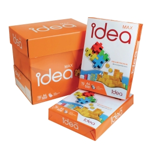 IDEA MAX COPY PAPER A4 70G - WHITE - REAM OF 500 SHEETS