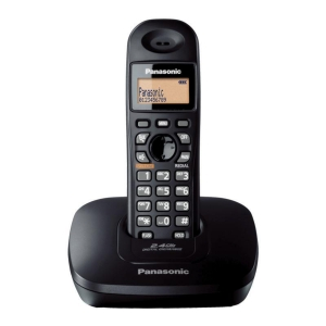 PANASONIC KX-TG3611 WIRE LESS PHONE BLACK