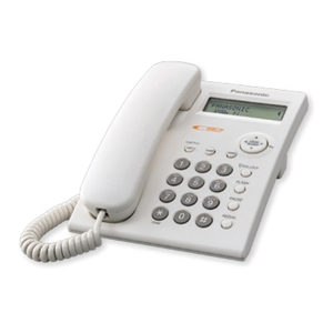 PANASONIC โทรศัพท์โชว์เบอร์ KX-TSC11MX ขาว