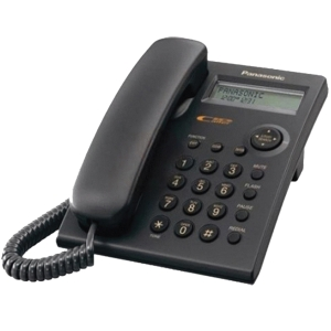 PANASONIC KX-TSC11MX PHONE BLACK LCD 16 DIGITS
