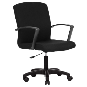 ACURA WIOS OFFICE CHAIR PVC BLACK