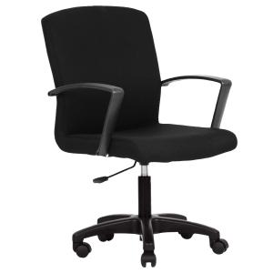ACURA WIOS/H OFFICE CHAIR PVC BLACK