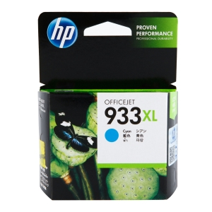 HP 933XL High Yield Cyan Original Ink Cartridge (CN054AE)