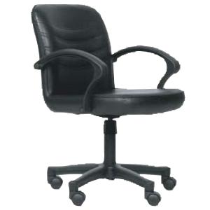 ACURA เก้าอี้สำนักงาน รุ่น SA-46 หนังเทียม สีดำ