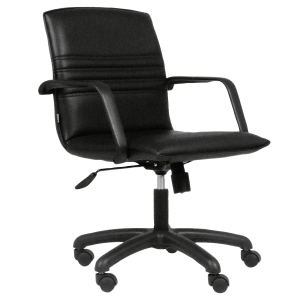ACURA CR-2/M OFFICE CHAIR PVC BLACK