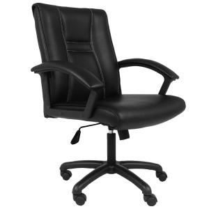 ACURA เก้าอี้สำนักงาน SCT/M หนังเทียม ดำ