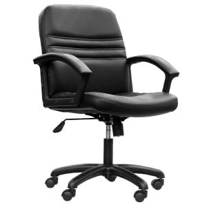 ACURA เก้าอี้สำนักงาน PK-01/A หนังเทียม ดำ