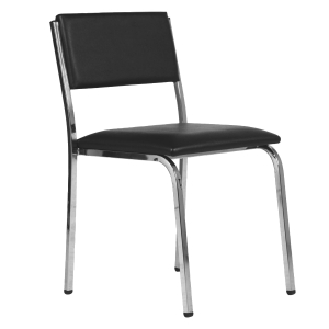 ACURA MN-62 PARTY CHAIR PVC BLACK