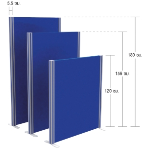 ACURA พาร์ติชั่น รุ่น 1PF 1510 ความสูง 156 เซนติเมตร คละสี