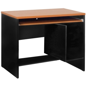 ACURA SCU-80(F) COMPUTER DESK CHERRY/BLACK