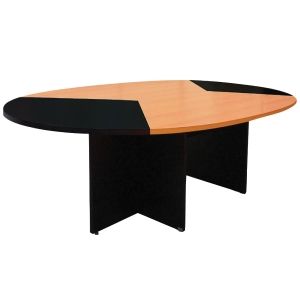 ACURA TO-260 MEETING TABLE CHERRY/BLACK