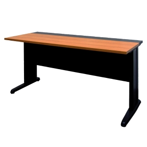 ACURA JKS-1500-60 OFFICE TABLE CHERRY/BLACK