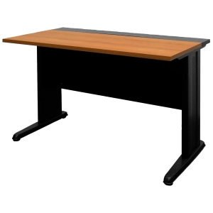 ACURA JKS-80-60 OFFICE TABLE CHERRY/BLACK
