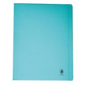 ORCA แฟ้มพับกระดาษ FLA550 A4 240 แกรม สีฟ้า แพ็ค 50 เล่ม