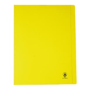 ORCA แฟ้มพับกระดาษ FLA550 A4 240 แกรม สีเหลือง แพ็ค 50 เล่ม