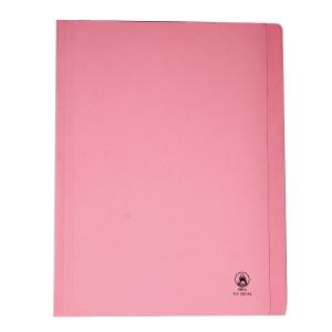 ORCA แฟ้มพับกระดาษ FLA550 A4 240 แกรม สีชมพู แพ็ค 50 เล่ม