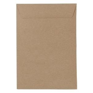 555 ซองเอกสารกระดาษคราฟท์น้ำตาล BA110แกรม ขนาด 14.5 X17.5  แพ็ค 50ซอง