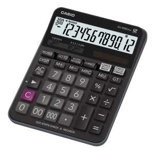 CASIO DJ120D PLUS DESKTOP CALCULATOR 12 DIGITS