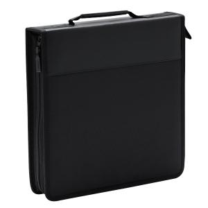STORM กระเป๋าใส่ซีดี 120 แผ่น QFB080 ผ้า ดำ