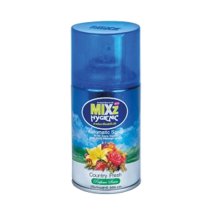 MIXZ HYGIENIC AUTOMATIC REFILL SPRAY COUNTRY FRESH 300 MILLILITERS