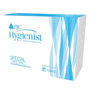 BJC HYGIENIST SPECIAL INTERFOLD HAND TOWEL 2-PLY 250 SHEETS PACK OF 4