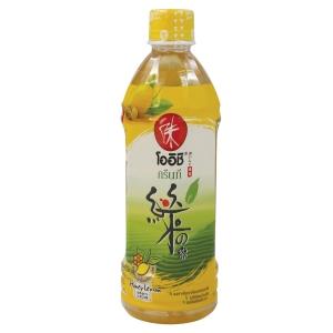 OISHI DRINK GREEN TEA HONEY-LEMON 500 MILLILITRES PACK OF 24