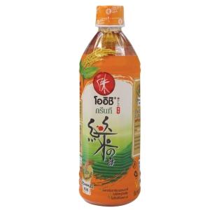 OISHI DRINK GREEN TEA GENMAI 500 MILLILITRES PACK OF 24